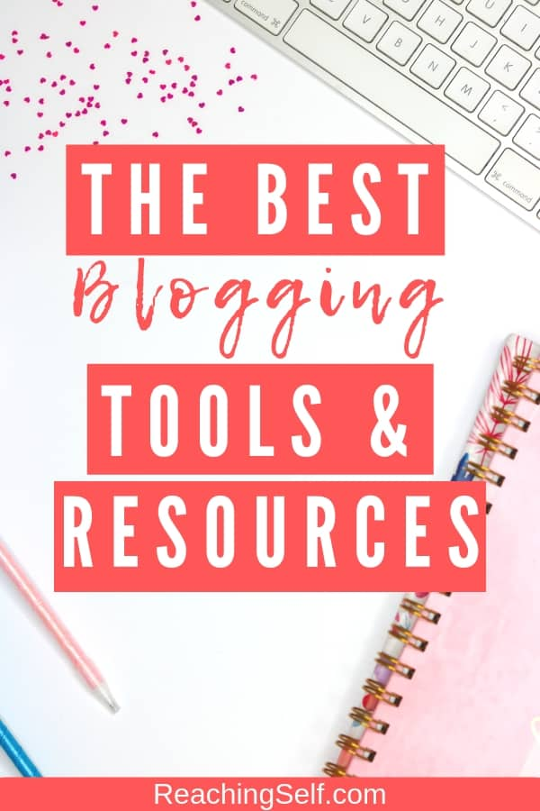 This list of blogging tools and resources will help you grow your blog so you can successfully blog quicker, easier, better, and more efficiently!