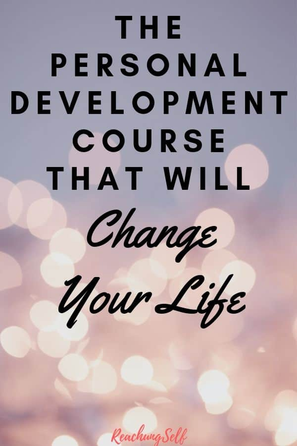 Learn about the best personal development course out there that changed me life and can change yours too with this honest review.